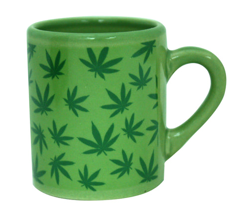 Pot Leaf Mug Shot