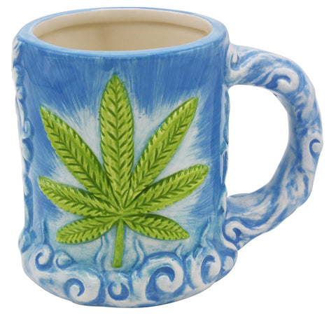 Pretty Pot Leaf Mug