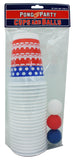 USA Party Pong Set