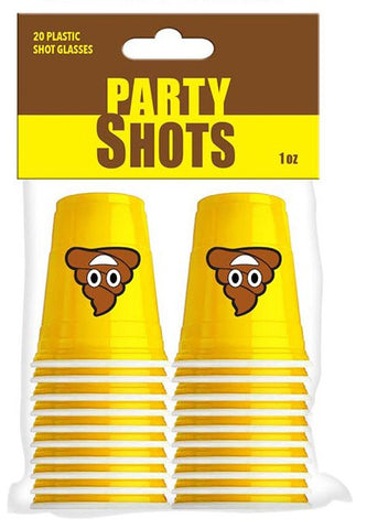 20pc Poop Shot Cups