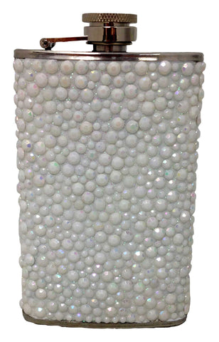 White Pebble Stone Flask