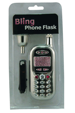 Bling Cell Phone Flask