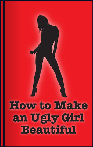 Ugly Girl Book Flask