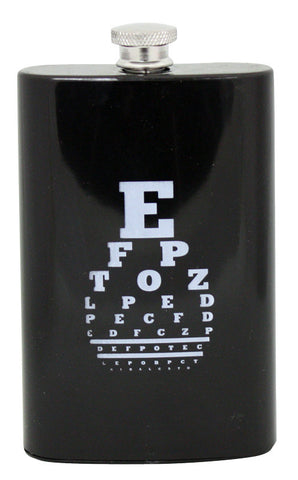 Eye Chart Acrylic Flask