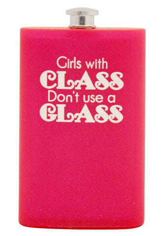 Girls with Class Acrylic Flask