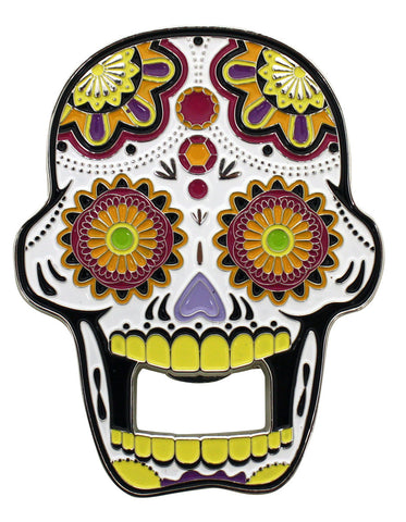 Candy Skull Bottle Opener