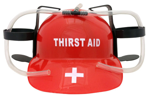 Thirst Aid Drinking Hat
