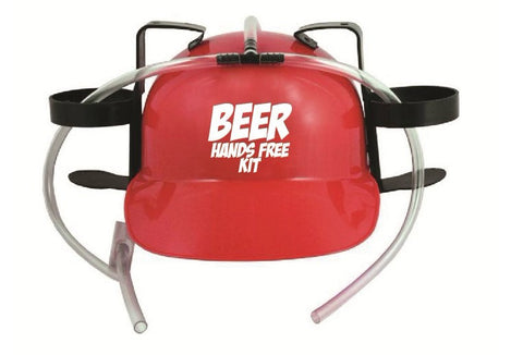 Beer Hands Free Kit Drinking Hat