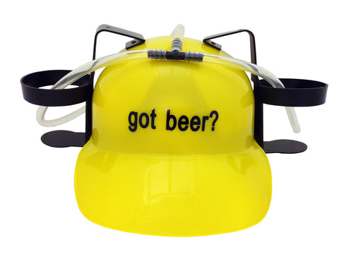 Got Beer? Drinking Hat