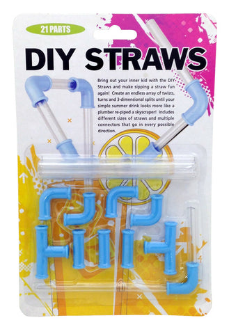 DIY Straws 21 pc