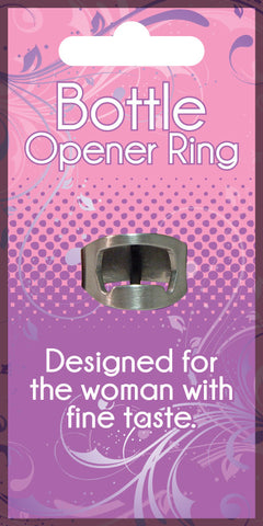 Ladies Bottle Opener Ring