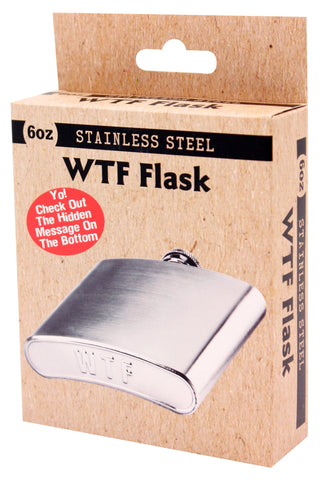 Bottoms Got Em WTF Flask