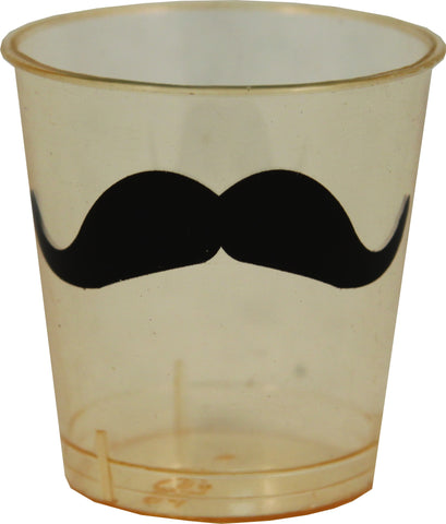 Mustache Shot Glass Set