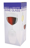 Red or White Double Wine Glass