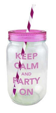 Mason Jar Keep Calm