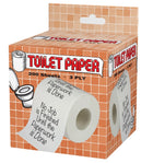 No Job Is Finished Toilet Paper