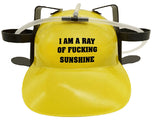 Ray of Sunshine Drinking Hat