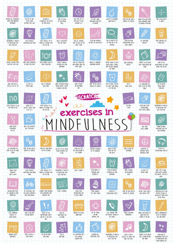 Mindfullness Scratch Off Poster