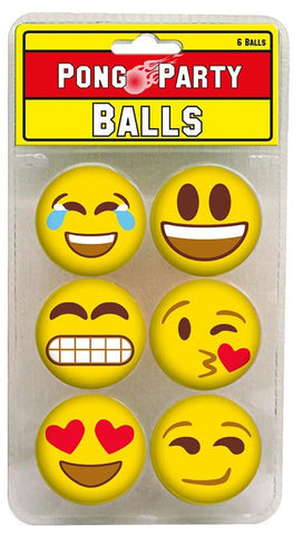 Smiley Pong Balls