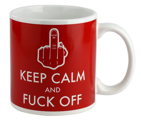 Giant Mug Keep Calm and Fuck Off