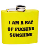 A Ray of Sunshine Flask