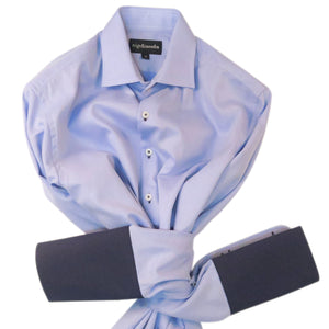 SKY WEAVE WITH CUFF TRIM - DOUBLE CUFF