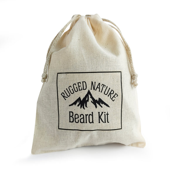 Rugged Nature Small Cotton Drawstring Bag