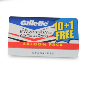 Pack of 10 Stainless Steel Razor Blades