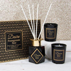 DESIRE BOUTIQUE DIFFUSER & CANDLE SET - BLACK KNOT Occassionz Ltd.