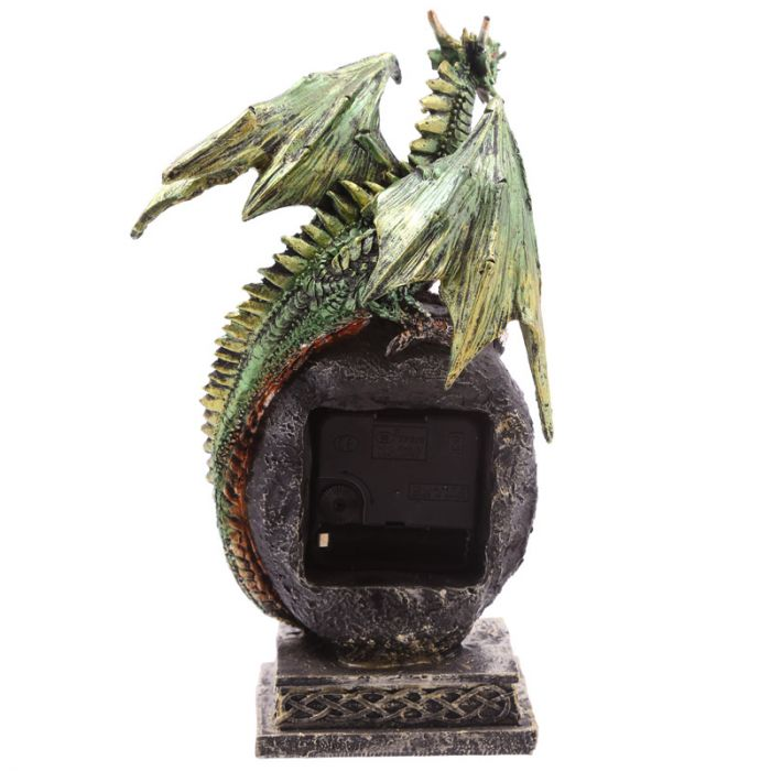 Geode Crystal Dragon Clock Occassionz Ltd.