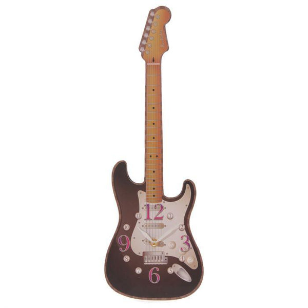 Guitar Shaped Picture Clock Occassionz Ltd.