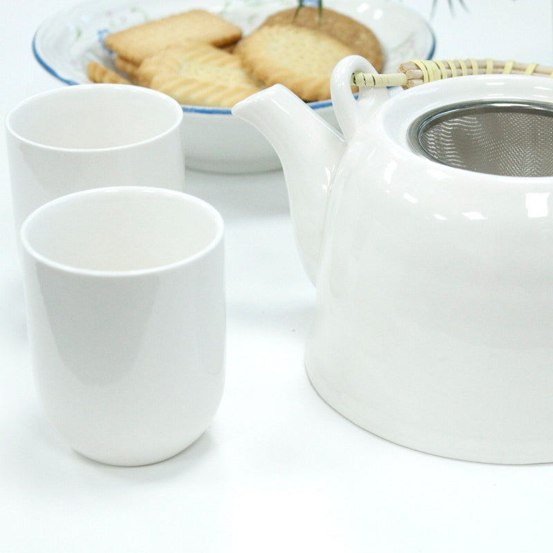 Herbal Teapot Set - Classic White Occassionz Ltd.