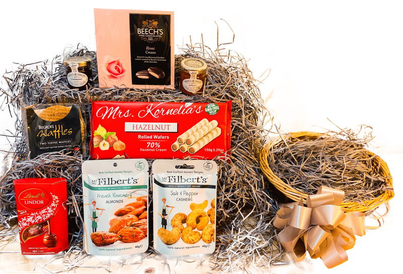 Joyous Treat Wicker Gift Hamper Occassionz Ltd (Basket of Love)