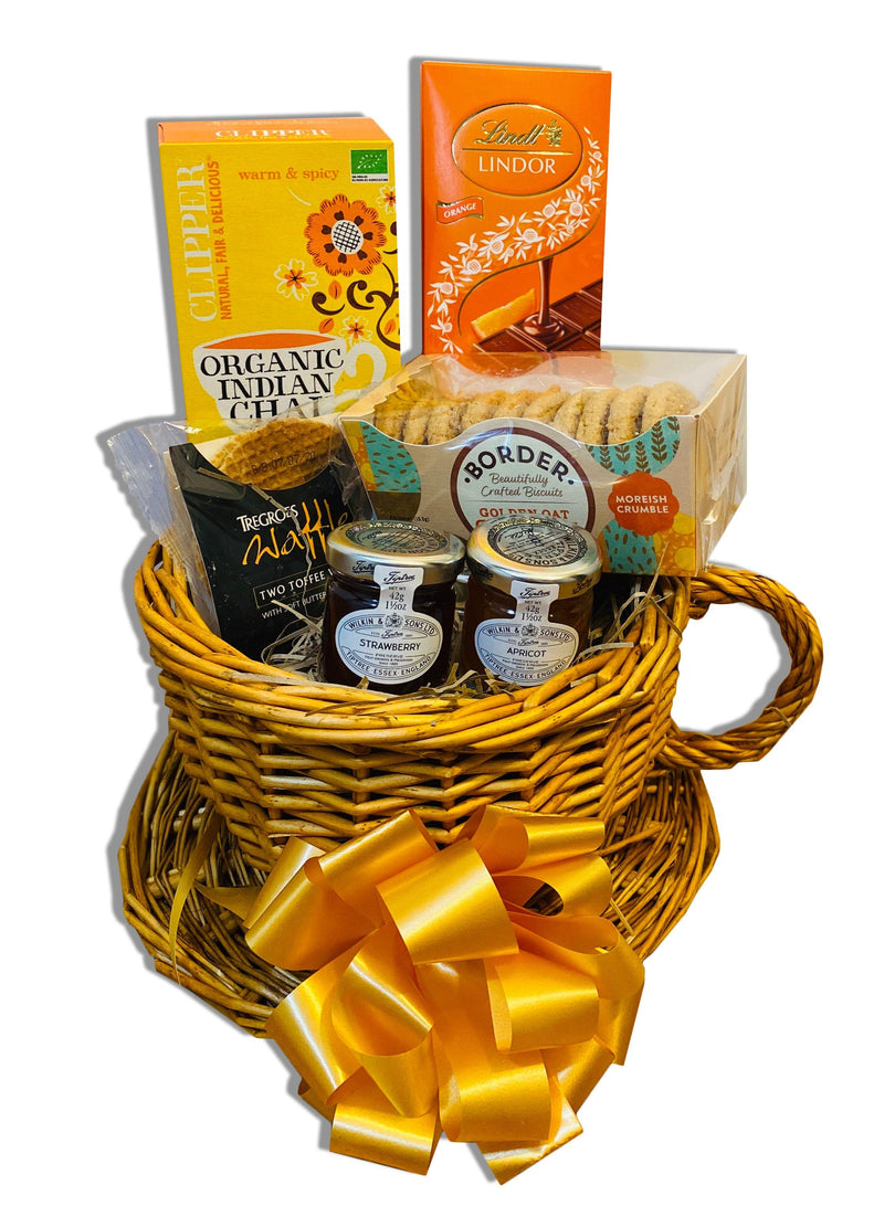 Luv n Cup Wicker Gift Hamper Occassionz Ltd (Basket of Love)