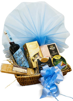 Luxe Hamper Wicker Gift Hamper Occassionz Ltd (Basket of Love)