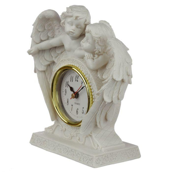Peace of Heaven Endless Love Cherub Mantle Clock Occassionz Ltd.