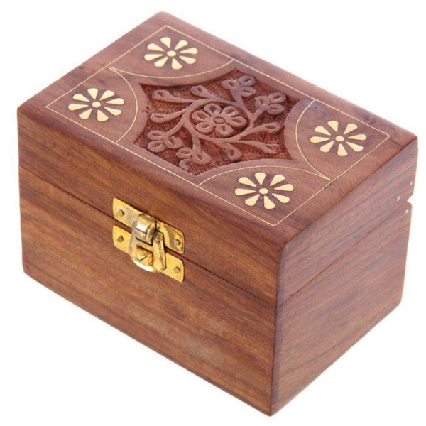 Sheesham Wood Essential Oil Box Occassionz Ltd.