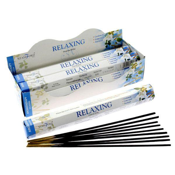 Stamford Hex Aromatherapy Incense Sticks - Relaxing Occassionz Ltd.