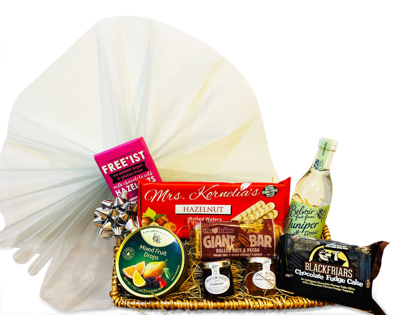Zest Hamper Wicker Gift Hamper Occassionz Ltd (Basket of Love)
