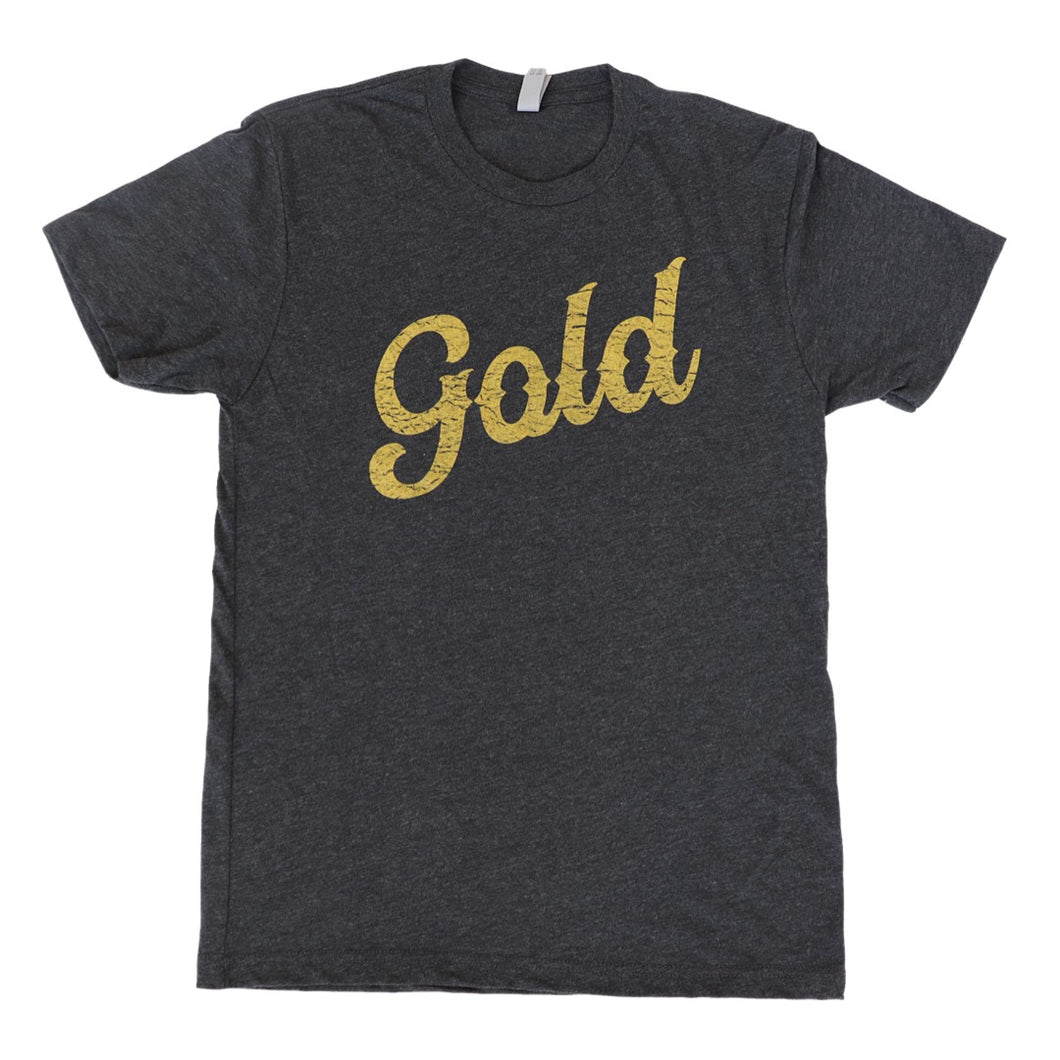 NOLA Gold Script Unisex Tee Kit for Kids