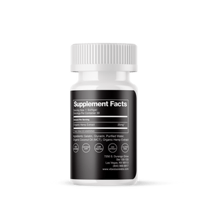 Full Spectrum CBD Softgel 750mg