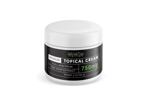 Full Spectrum CBD Topical Cream 750mg