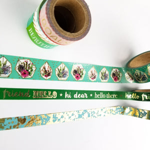 Washi Green Mix Bundle