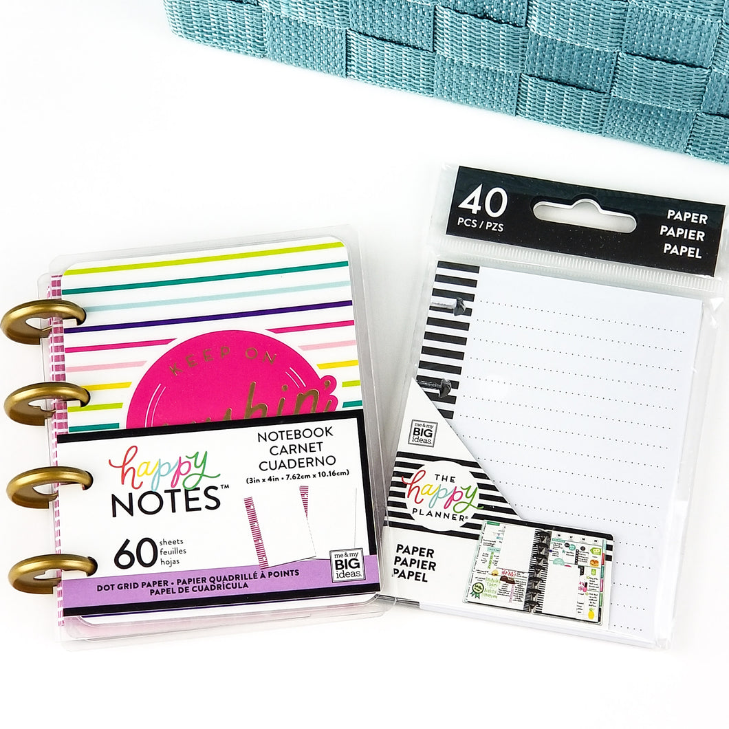 Happy Planner Micro Notes + Refill Paper