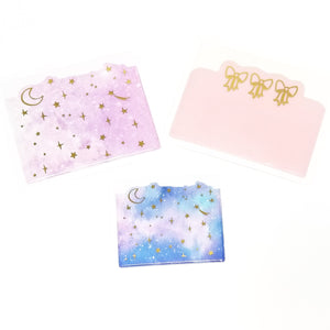 Rose Colored Daze Adhesive Pockets (3)