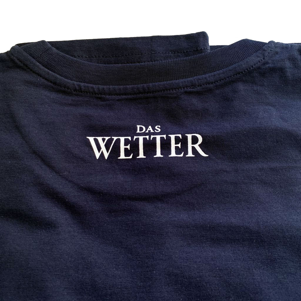 Wetter-Shirt »Lies« (Blau) SOLD OUT