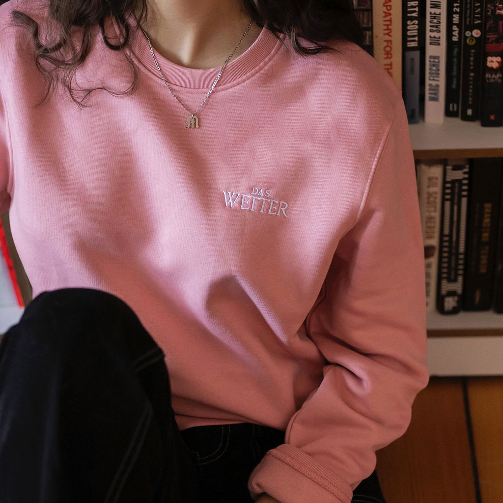 Wetter-Sweater »Logo« (Lachs) SOLD OUT