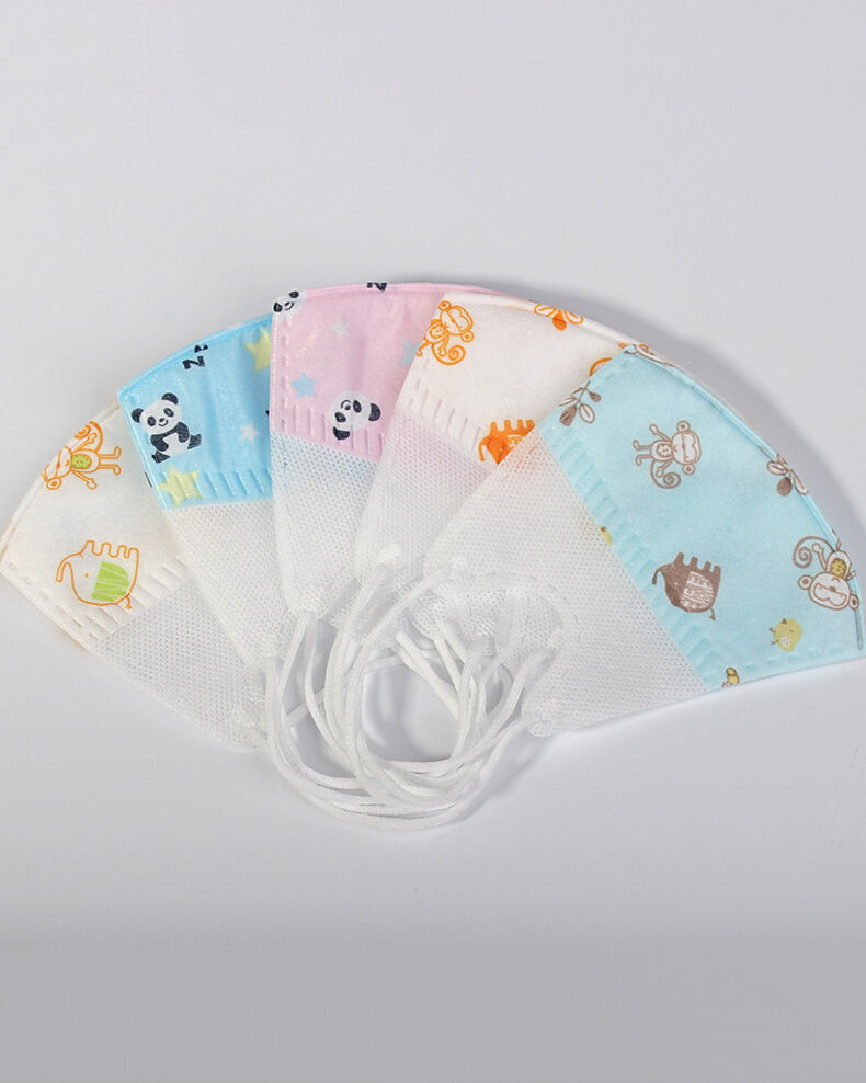Kids Printed Medical Mask (5 PCs/Pack)