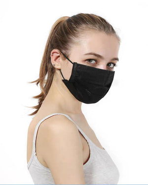 Black Medical Mask