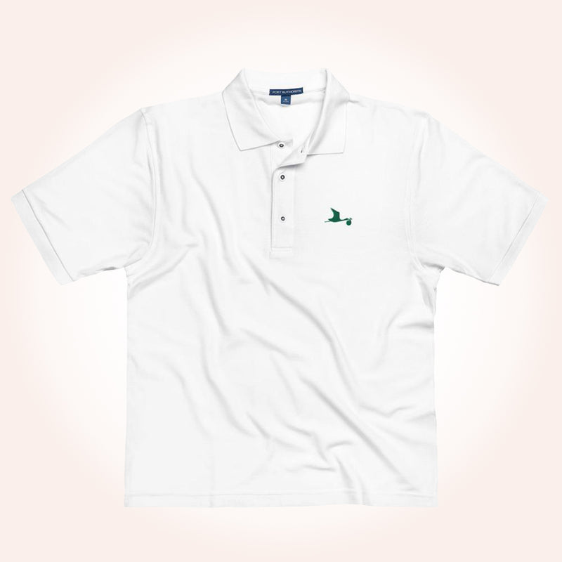 MillionDollarBaby Stork Men's Polo Shirt
